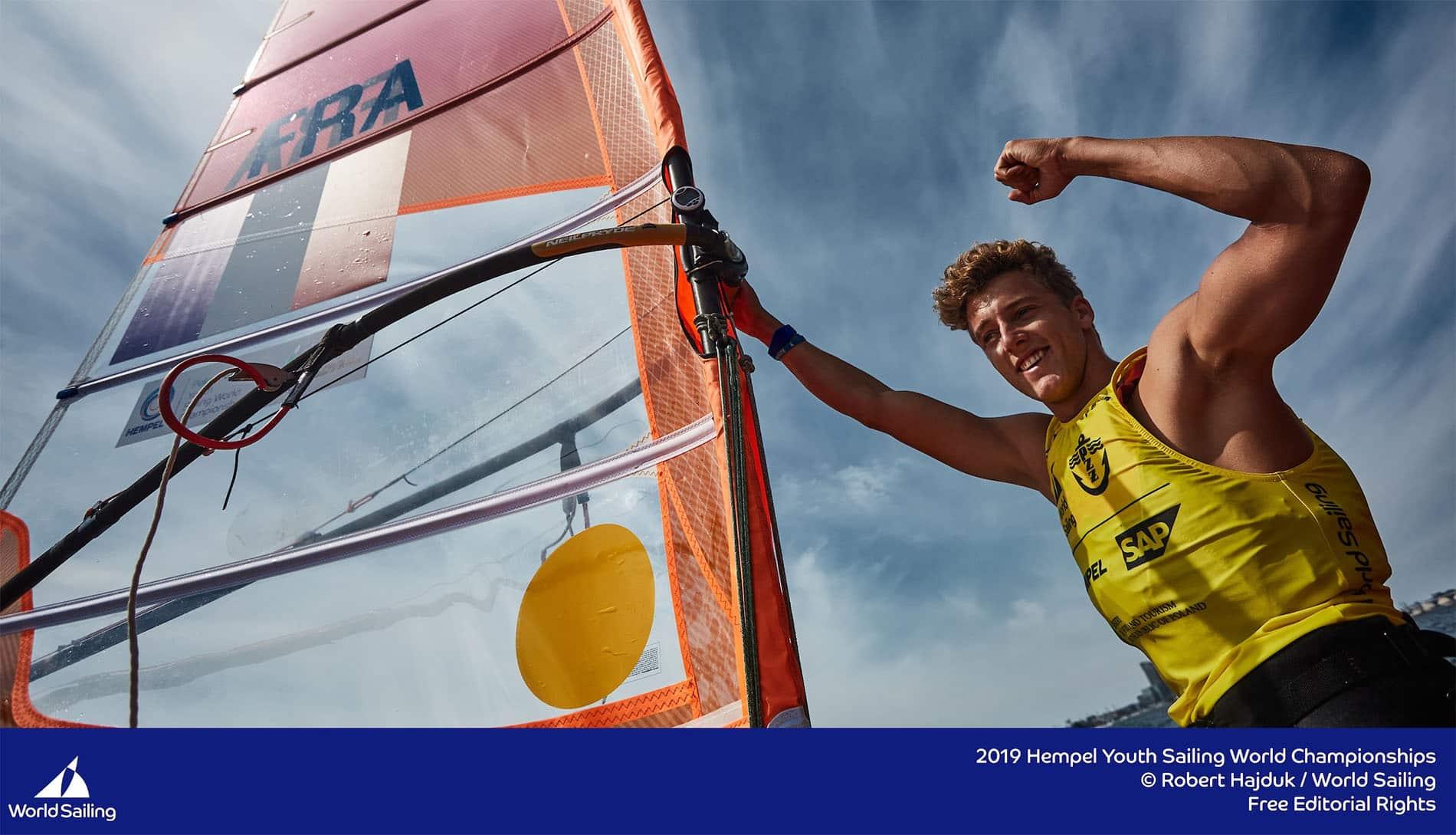 Fabien Pianazza Champion du Monde Jeune Windsurf 2019 en Pologne