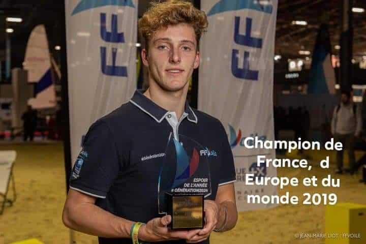 Fabien Piannazza du CNA Meilleur Espoir 2019