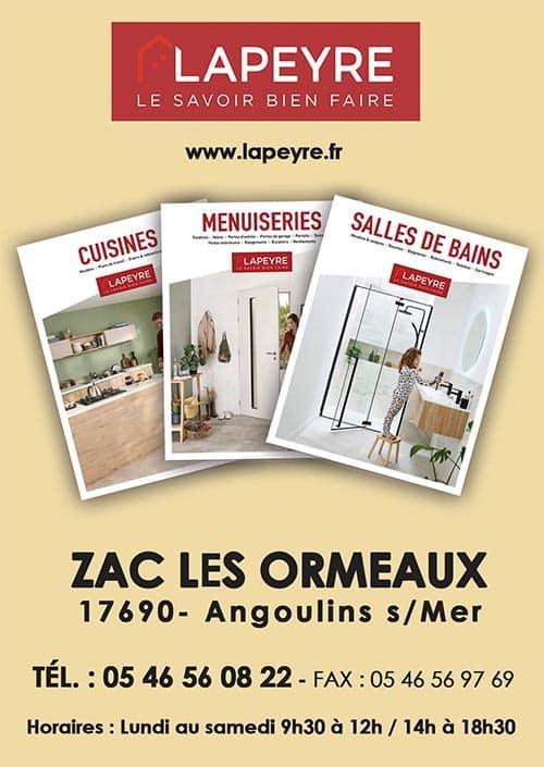 Partenaires du CNA pour le calendrier des Marées Décembre 2020 La Rochelle Pallice Ile de Ré Châtelaillon