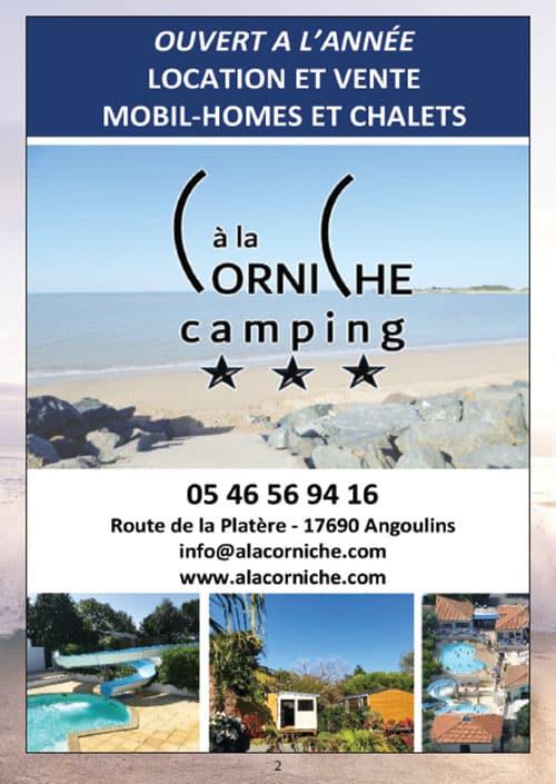 Partenaires du CNA pour le calendrier des Marées Janvier 2020 La Rochelle Pallice Ile de Ré Châtelaillon