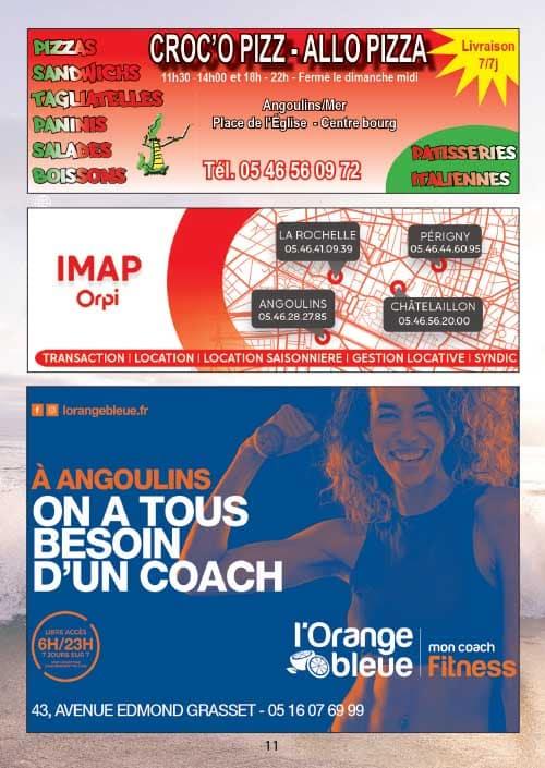 Partenaires du CNA pour le calendrier des Marées Mars 2020 La Rochelle Pallice Ile de Ré Châtelaillon