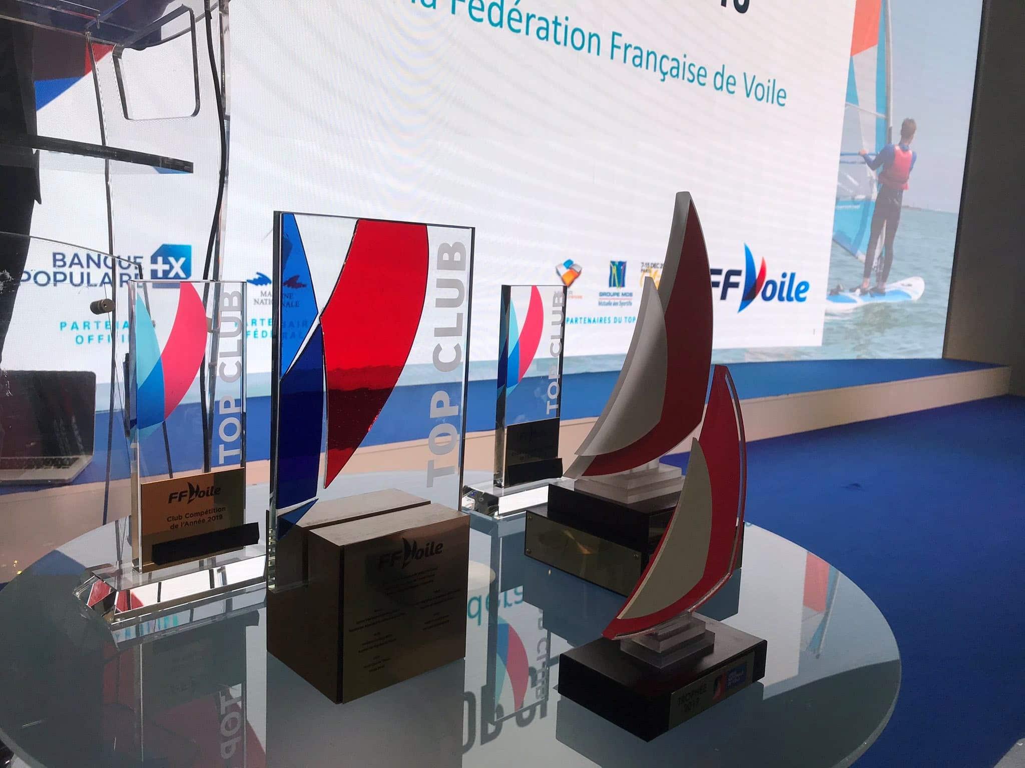 CNA Lauréat du Top Club 2020 de la FFV (fédération Française de Voile)