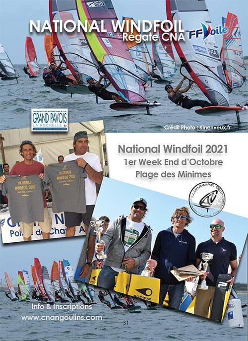 National Wind Foil 2021 organisé par le CNA pour le calendrier des Marées Octobre 2021 La Rochelle Pallice Ile de Ré Châtelaillon